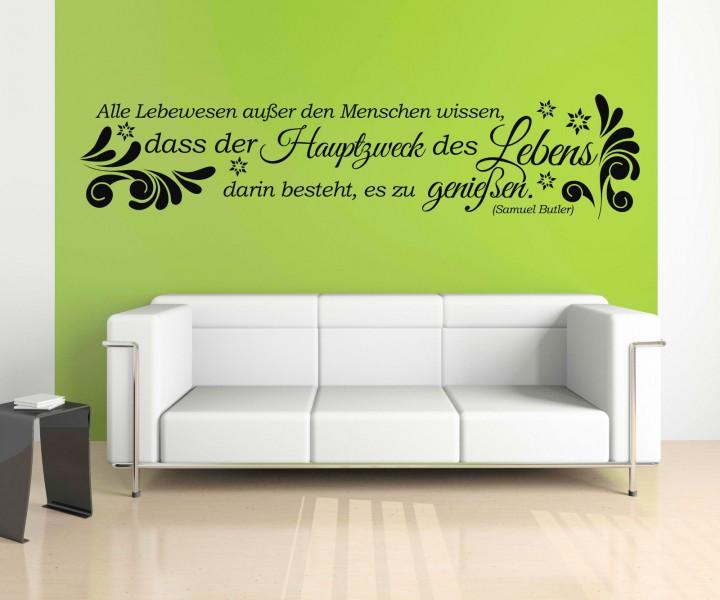 wandtattoo spruch leben genie en wandsticker zitate zitat weisheit butler 5d415 wandtattoos. Black Bedroom Furniture Sets. Home Design Ideas