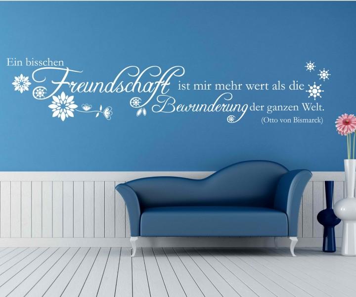 zitate und spr che wandtattoos zitate oder spr che. Black Bedroom Furniture Sets. Home Design Ideas