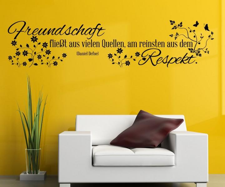 zitat freundschaft respekt worte zitate weisheiten. Black Bedroom Furniture Sets. Home Design Ideas
