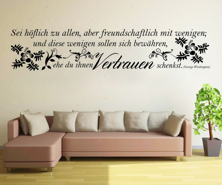 zitate und spr che wandtattoos zitate spr che weisheiten. Black Bedroom Furniture Sets. Home Design Ideas