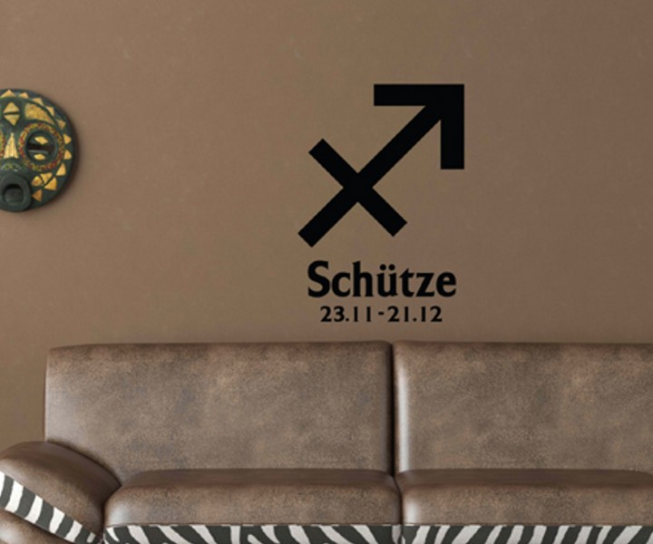 wandtattoo sternzeichen sch tze text sticker tattoo wandbild aufkleber 5q484 wandtattoos liebe. Black Bedroom Furniture Sets. Home Design Ideas
