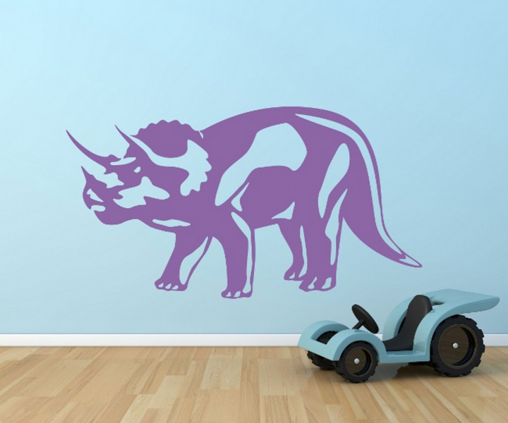 Wandtattoo dinosaurier tier uhrzeit tattoo sticker - Wandtattoo dinosaurier ...