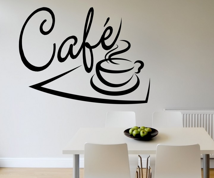 wandtattoo cafe kaffee tasse k che tattoo wand sticker wandbild aufkleber 5q545 wandtattoos. Black Bedroom Furniture Sets. Home Design Ideas