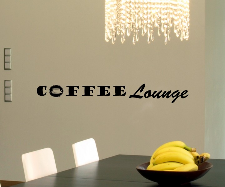 wandtattoo coffee lounge k che dekoration wand sticker wandbild aufkleber 5q610 wandtattoos. Black Bedroom Furniture Sets. Home Design Ideas