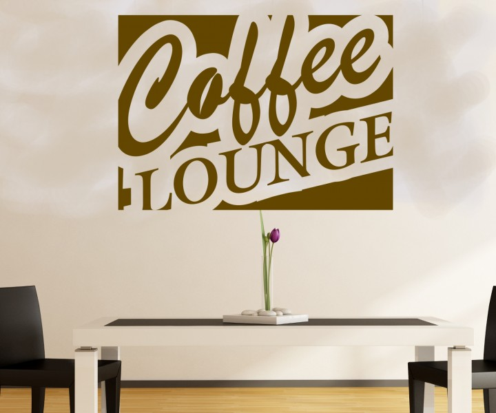 wandtattoo coffee lounge k che dekoration wand sticker wandbild aufkleber 5q618 wandtattoos. Black Bedroom Furniture Sets. Home Design Ideas