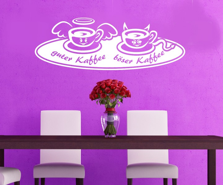 wandtattoo guter b ser kaffee k che dekoration sticker wandbild aufkleber 5q693 wandtattoos. Black Bedroom Furniture Sets. Home Design Ideas