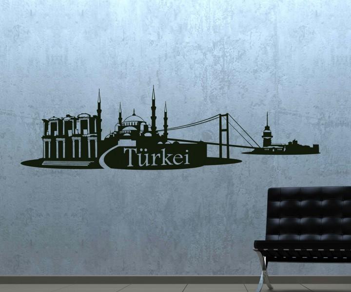 wandtattoo blumen turkis 082146 neuesten ideen f r die